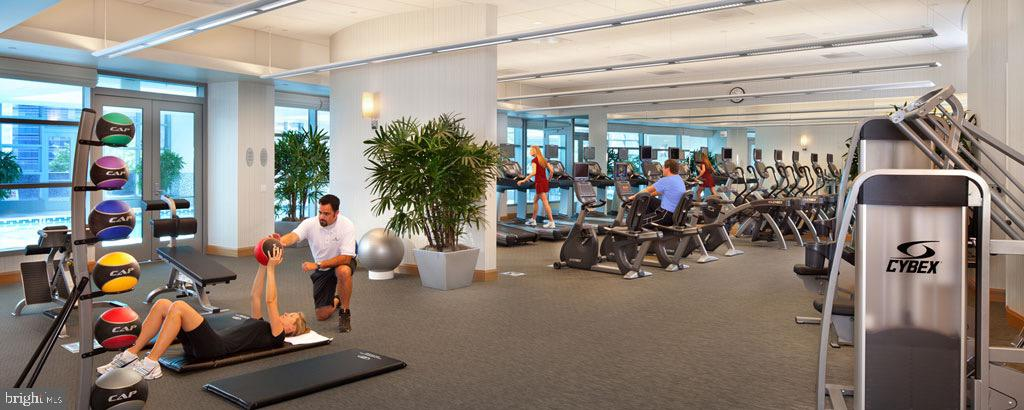 HEALTH & FITNESS CENTER , TRAINING & SPA SERVICES - 1881 N NASH ST #601, ARLINGTON