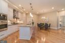 Large Kitchen Island - 601 N FAIRFAX ST #404, ALEXANDRIA