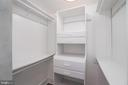 One of the Master Bedroom Closets - 601 N FAIRFAX ST #404, ALEXANDRIA