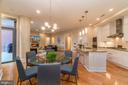 Dining area - 601 N FAIRFAX ST #404, ALEXANDRIA