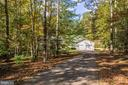 View of the home from the street - 9325 WYNDHAM HILL LN, SPOTSYLVANIA