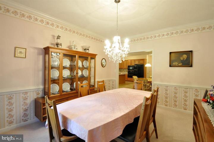 Formal dining room - 9325 WYNDHAM HILL LN, SPOTSYLVANIA
