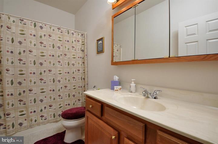 upstairs hall bath - 9325 WYNDHAM HILL LN, SPOTSYLVANIA
