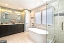 Master Bathroom - 43347 BUTTERFIELD CT, ASHBURN
