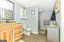 Lower Level Bathroom - 7235 WOODVILLE RD, MOUNT AIRY