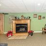 Lower Level Gas Fireplace - 7235 WOODVILLE RD, MOUNT AIRY