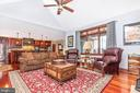 Family Room - 7235 WOODVILLE RD, MOUNT AIRY