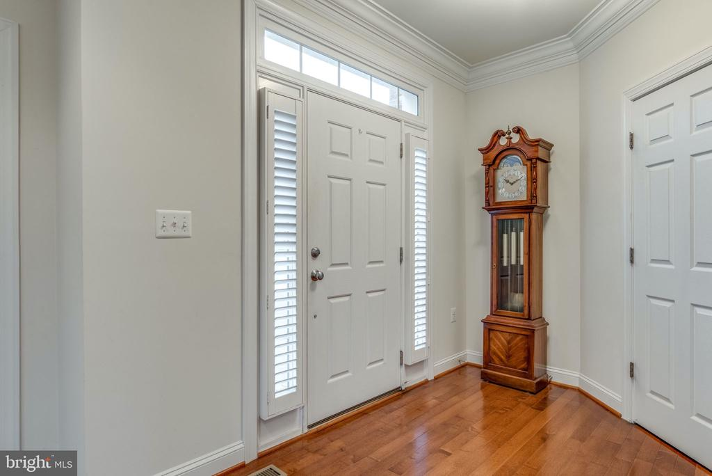 Foyer with Coat Closet - 21431 FAIRHUNT DR, ASHBURN