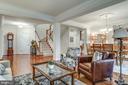 Living Room & Dining Room Combination - 21431 FAIRHUNT DR, ASHBURN