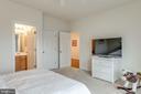 Bedroom #2 with Private En Suite Bathroom - 21431 FAIRHUNT DR, ASHBURN