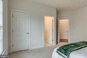 Bedroom #3 Leads to Jack & Jill Bathroom - 21431 FAIRHUNT DR, ASHBURN