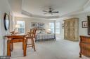 Large Master Bedroom with Large En Suite Bathroom - 21431 FAIRHUNT DR, ASHBURN