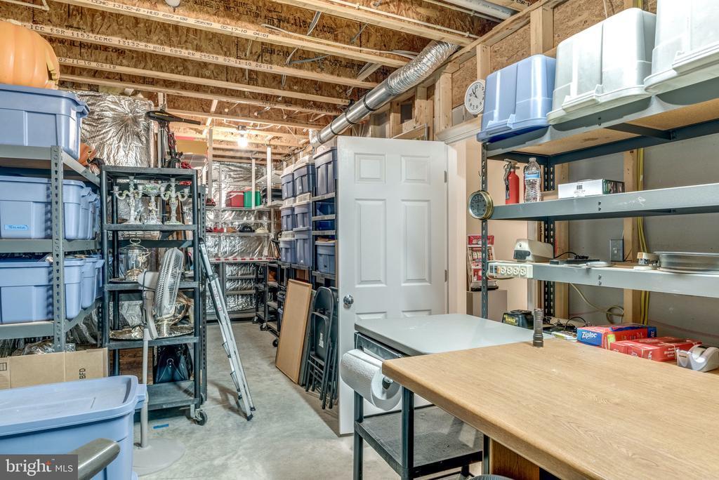 Excellent Storage Space in Basement - 21431 FAIRHUNT DR, ASHBURN