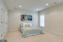 6th Bedroom with En Suite Bathroom for Guests - 21431 FAIRHUNT DR, ASHBURN