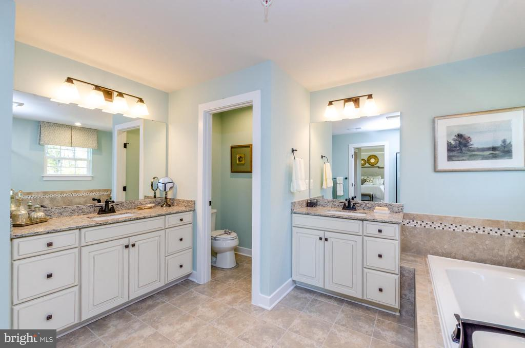 Dual sinks in master bath - 14311 BENTLEY PARK DR, BURTONSVILLE