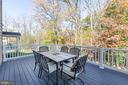 Large composite deck already in place - 14311 BENTLEY PARK DR, BURTONSVILLE