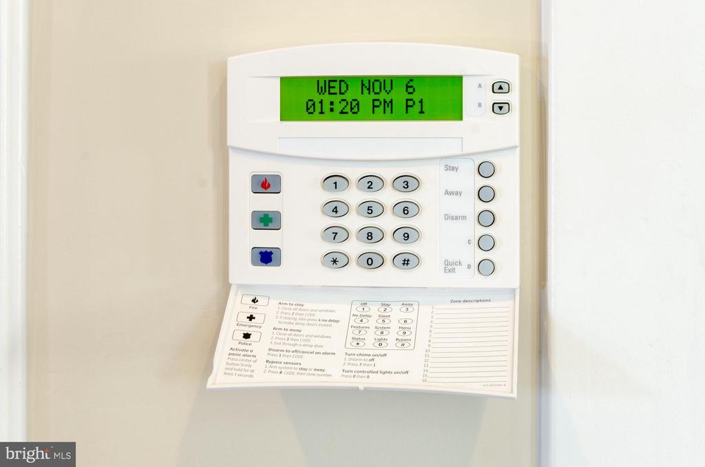 Alarm system in place - 14311 BENTLEY PARK DR, BURTONSVILLE