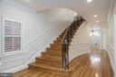 Grand staircase - 1914 35TH ST NW, WASHINGTON