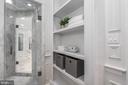 Master bathroom - 1914 35TH ST NW, WASHINGTON