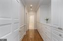 Master bedroom closet - 1914 35TH ST NW, WASHINGTON