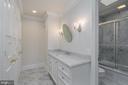 Third bathroom - 1914 35TH ST NW, WASHINGTON