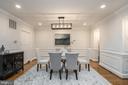 Dining room - 1914 35TH ST NW, WASHINGTON