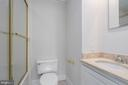 Second bathroom - 1914 35TH ST NW, WASHINGTON