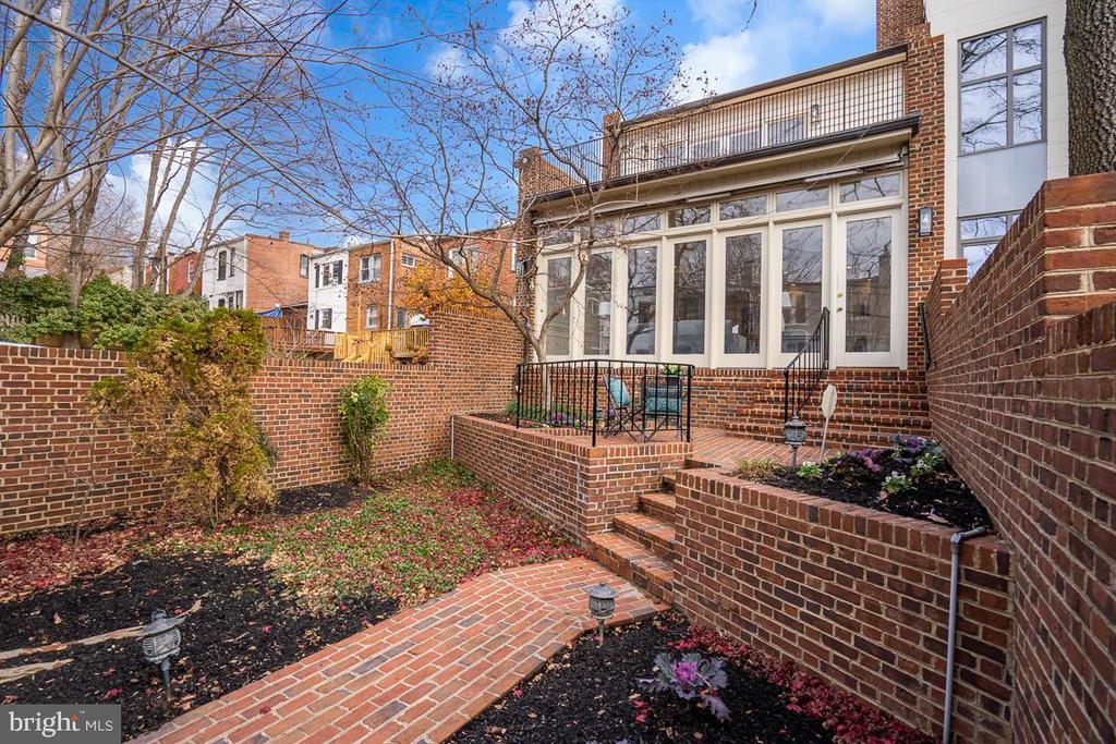 Backyard - 1914 35TH ST NW, WASHINGTON
