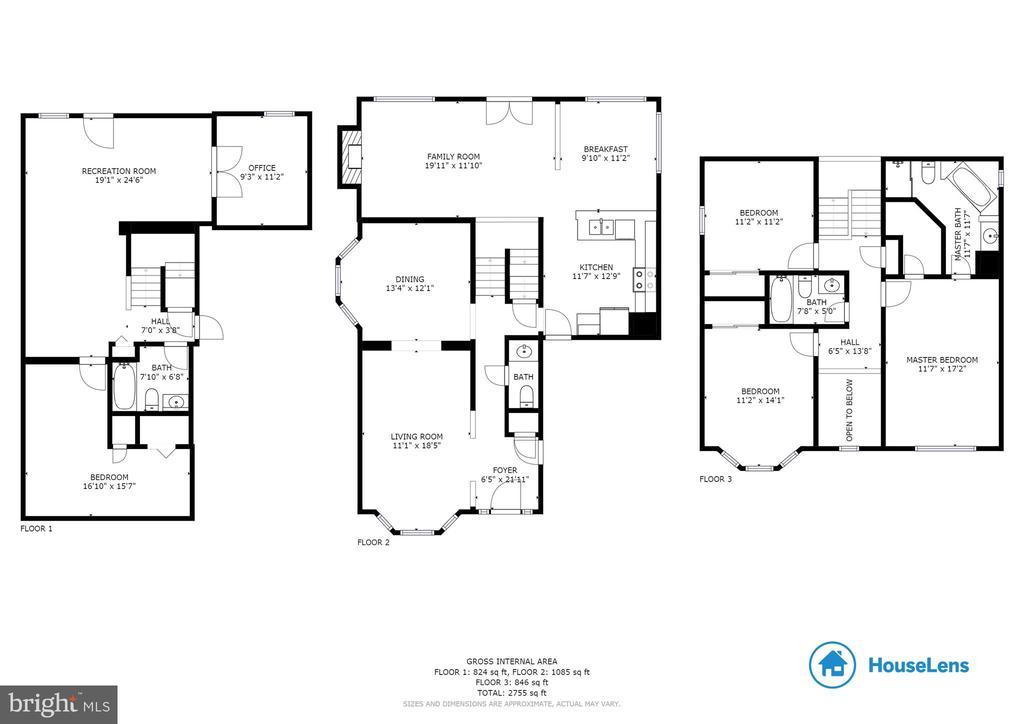 Floor Plan - 827 BALLS BLUFF RD NE, LEESBURG