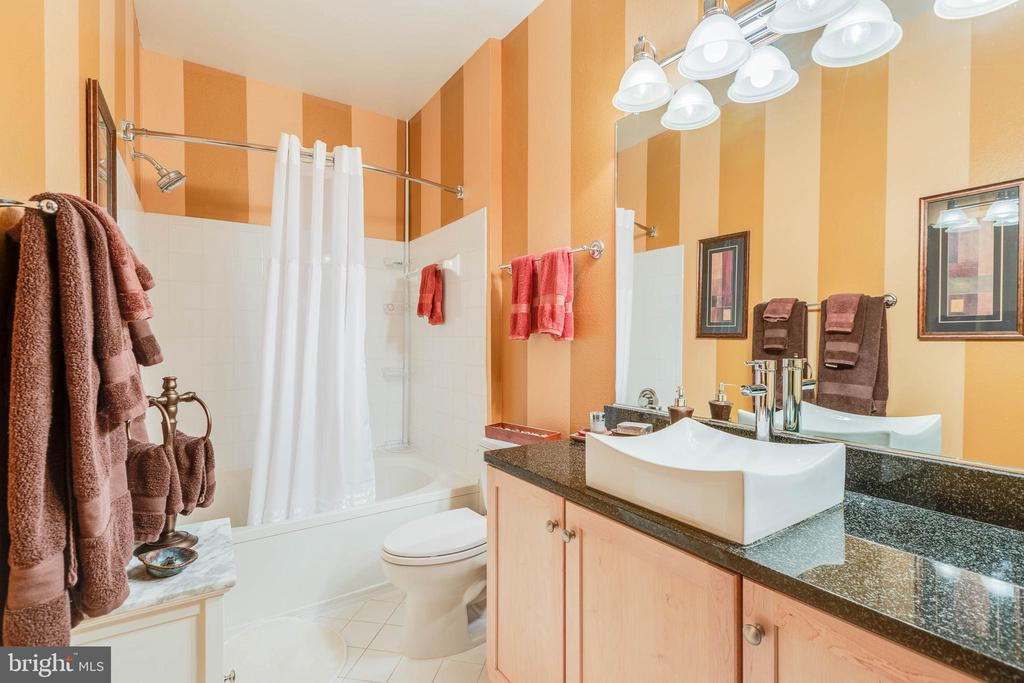 Second full bath also with soaking tub - 11750 OLD GEORGETOWN RD #2430, NORTH BETHESDA