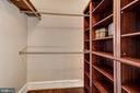 Walk-in closet with wall of built-ins - 1514 17TH ST NW #511, WASHINGTON