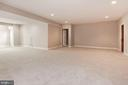 Lower level rec room - 1231 INGLESIDE AVE, MCLEAN