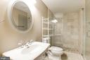 Lower Level Full Bathroom - 1231 INGLESIDE AVE, MCLEAN