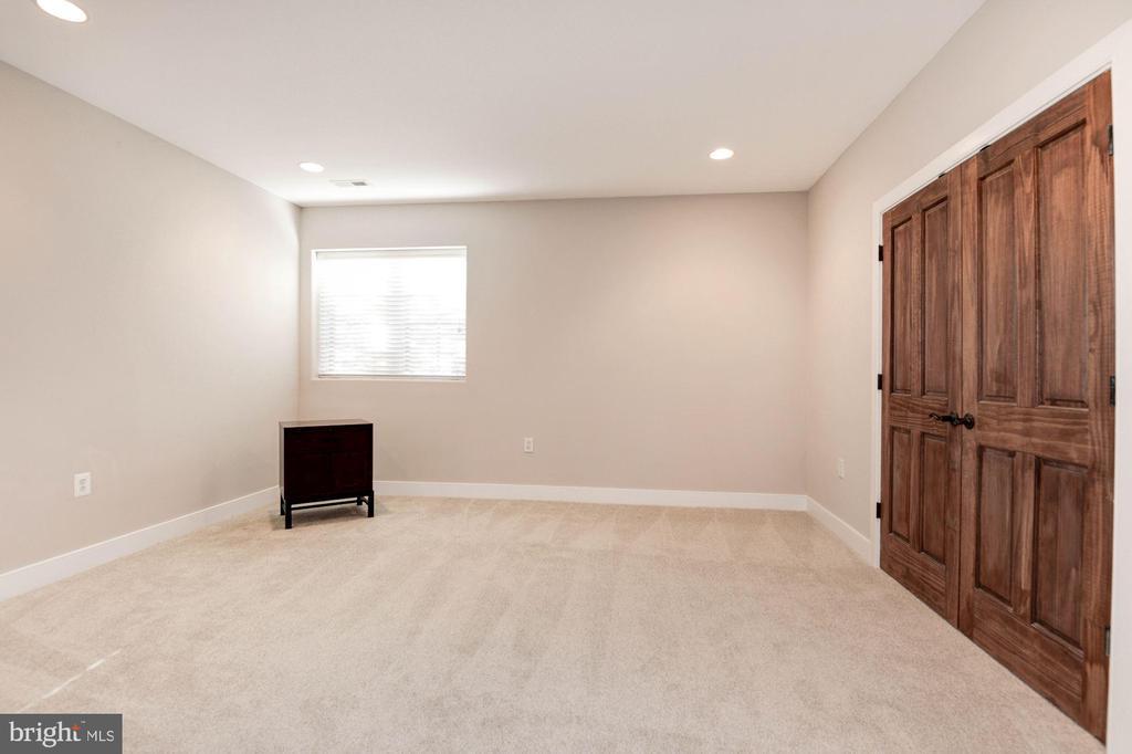 Lower Level Bedroom #6 - 1231 INGLESIDE AVE, MCLEAN