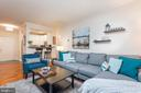 Open floor plan - 2310 14TH ST N #301, ARLINGTON