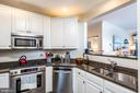 Open & updated kitchen - 2310 14TH ST N #301, ARLINGTON