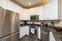Kitchen overflows w/cabinets - 2310 14TH ST N #301, ARLINGTON