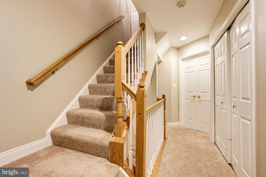 Stairs to fourth level - 2137 N PIERCE CT, ARLINGTON
