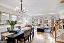Beautiful and open second level - 2137 N PIERCE CT, ARLINGTON