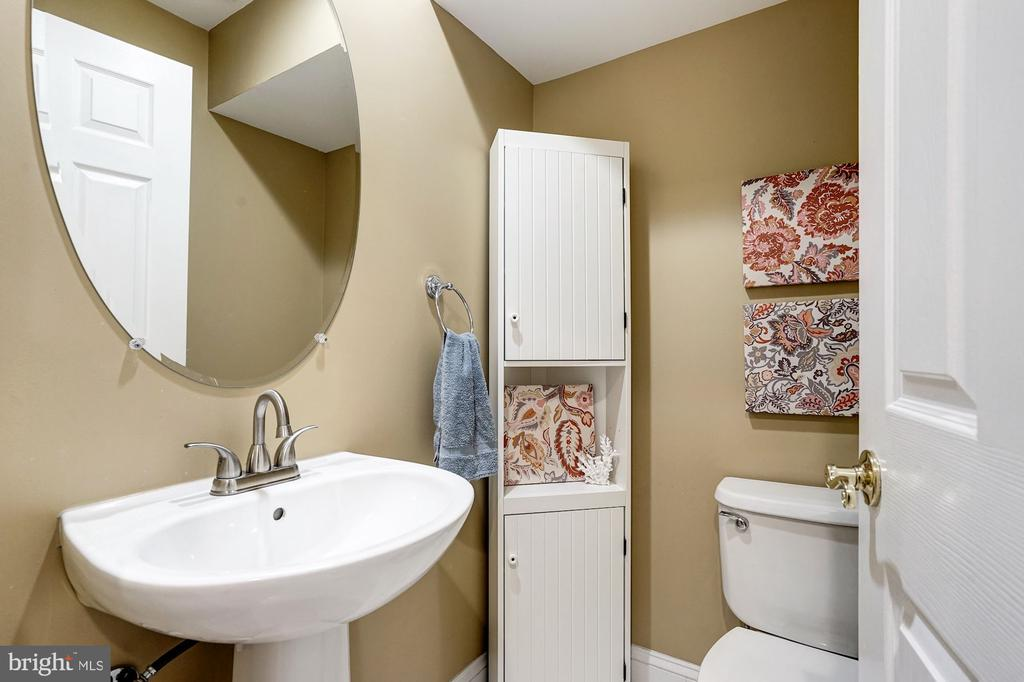 1st floor bathroom next to rec room - 2137 N PIERCE CT, ARLINGTON