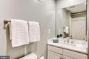 Full bathroom on third level - 2137 N PIERCE CT, ARLINGTON