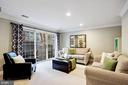 Cozy rec room off the foyer entrance - 2137 N PIERCE CT, ARLINGTON