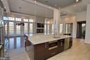 Dream kitchen with room for 2 chefs - 18184 SHINNIECOCK HILLS PL, LEESBURG