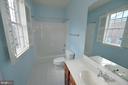Full bath - 18184 SHINNIECOCK HILLS PL, LEESBURG