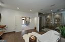 Master bath - 18184 SHINNIECOCK HILLS PL, LEESBURG