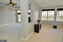 Master bedroom and sitting room - 18184 SHINNIECOCK HILLS PL, LEESBURG