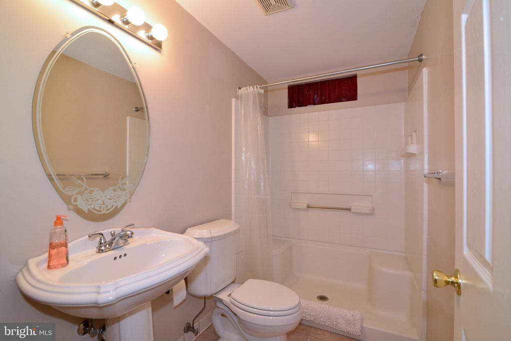 Lower Level Bathroom. - 47408 GALLION FOREST CT, STERLING