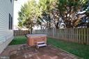 Patio with Hot Tub (conveys) - 47408 GALLION FOREST CT, STERLING