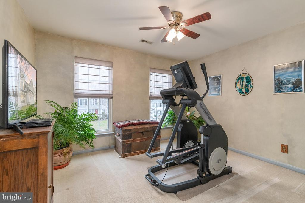 4th Bedroom Upper Used as Exercise Room - 8 STONERIDGE CT, STAFFORD