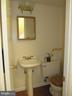 Half Bath Off Entry Way - 8396 UXBRIDGE CT, SPRINGFIELD